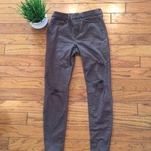 MUDD Jeans khaki skinny size 3 Women's juniors
